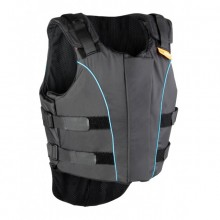 Airowear Junior Outlyne Body Protector (Black /Turquiose Piping)