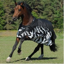 Bucas Buzz Off Zebra Print Fly/Rain Sheet