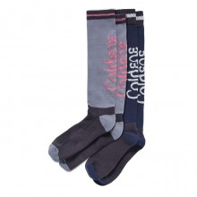 Caldene Roma Two Pack Riding Socks