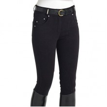 Caldene Carter Ladies Knee Patch Breeches (Navy)