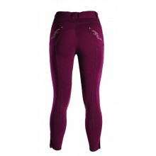 Caldene Carter Ladies Knee Patch Breeches (Plum)