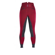 Caldene Essen Ladies Full Seat Breeches (Burgundy)