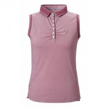 Caldene Lana Ladies Sleeveless Pique Top (Tulipwood)