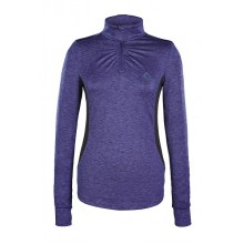 Caldene Jette Ladies Long Sleeved Technical Top (Navy)