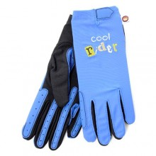 Carrots Bang on the Door Boys Blue Cool Rider Gloves (Kids)
