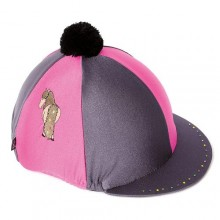 Carrots Cute Pony Grey & Pink Hat & Glove Set (Kids)