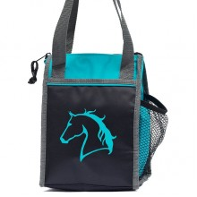 Carrots Teal Horsehead Lunch Bag