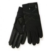 Carrots Competition Winter Warm Lined Riding Gloves (Black)