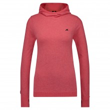 Euro-Star Melody Ladies Long Sleeve Top (Fiery Coral)