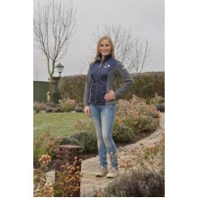 Esperado Kitzbuehl Ladies Fleece Jacket (Navy)