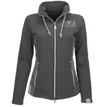 Esperado Ladies Luxury Sweat Jacket (Grey)