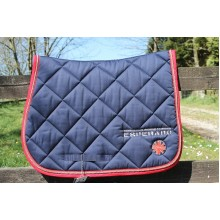 Esperado Flag Dressage Saddle Pad & Bandage Set (Navy)