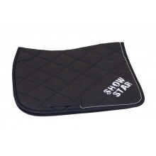 Esperado Show Star Dressage Saddle Pad & Bandage Set (Black)