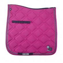 Euro-Star Excellent Dressage Saddle Pad (Raspberry)