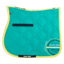 Euro-Star Excellent Dressage Saddle Pad & Bandage Set (Aqua)