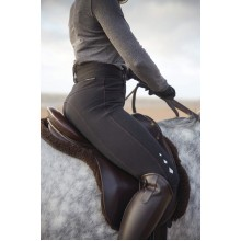 Harry Hall Halsham Ladies Water Repellant Jodhpurs (Black)