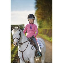 Harry Hall Otterburn Junior Top (Pink)