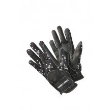 Harry Hall Roxby Reflective Junior Riding Glove (Black)