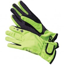 Harry Hall DWR Softshell Riding Glove (Fluorescent Yellow)