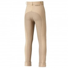 Harry Hall Childs Chester Sticky Bum Jodhpurs (Beige)