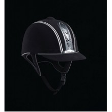 Harry Hall Legend Crystal Plus Junior Riding Helmet (Black)
