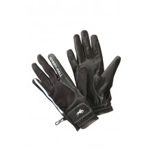 Harry Hall Lockton Reflective Riding Glove (Black)