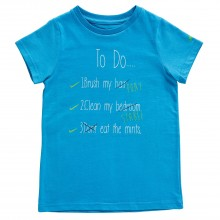 Harry Hall To Do Junior Tee Shirt (Blue)