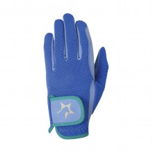 Hy5 Childs Zeddy Riding Gloves (Cobalt Blue)