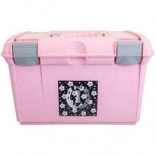Imperial Riding Fashion Flower Grooming Box (Rose / Silvergrey)