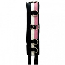 Imperial Riding Deluxe Nylon Lunge Roller (Black/Rose)