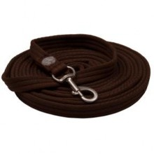 Imperial Riding Nylon Lunge Rein (Chocolate)