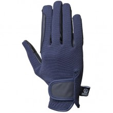 Imperial Riding Snowflake Gloves (Navy)