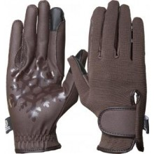 Imperial Riding Snowflake Gloves (Brown)