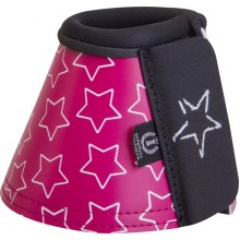 Imperial Riding Star Deep Pink Bell Boots