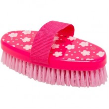 Imperial Riding Fashion Flower Medium Body Brush (Pink)