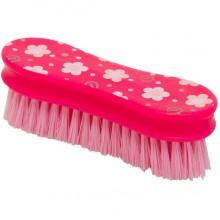 Imperial Riding Fashion Flower Print Head Brush (Pink)