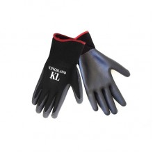Kingsland Terry Unisex Riding Gloves (Black)