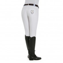 Kingsland Kelly Breeches with Crystal Crest (White)