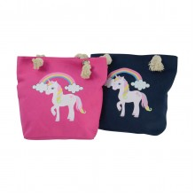 Little Rider Unicorn Tote Bag