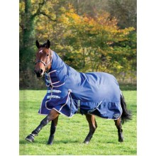 Masta Climatemasta 100G Fixed Neck Turnout Rug (Navy/Orange)