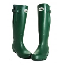Rockfish Original Matt Tall Wide Calf Fit Wellington (Racing Green)