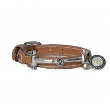 Spooks Leather Bracelet (Light Brown)