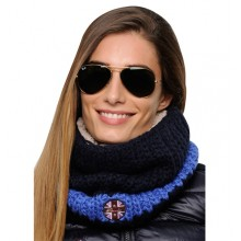 Spooks Stripe Loop Scarf (Navy/ Ocean)