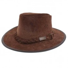 Toggi Swagman Crushable Suede Bush Hat (Brown)