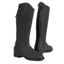 Toggi Tucson Childrens Long Leather Riding Boot (Black)